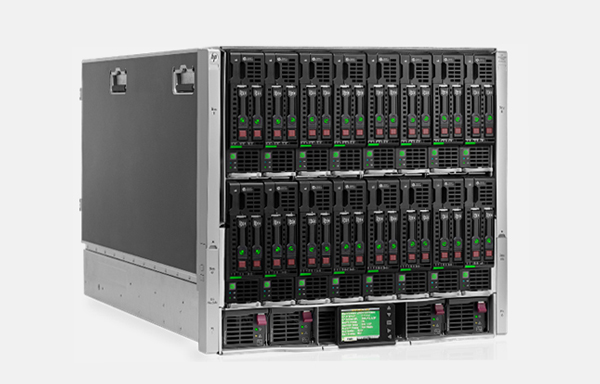 HPE BladeSystem c7000 인클로저